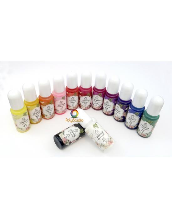 13 semi-opaque colorant for UV resin