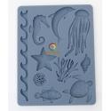 Sculpey Silicon bakeable mold Sea life