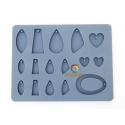 Sculpey Silicon bakeable mold Jewelry