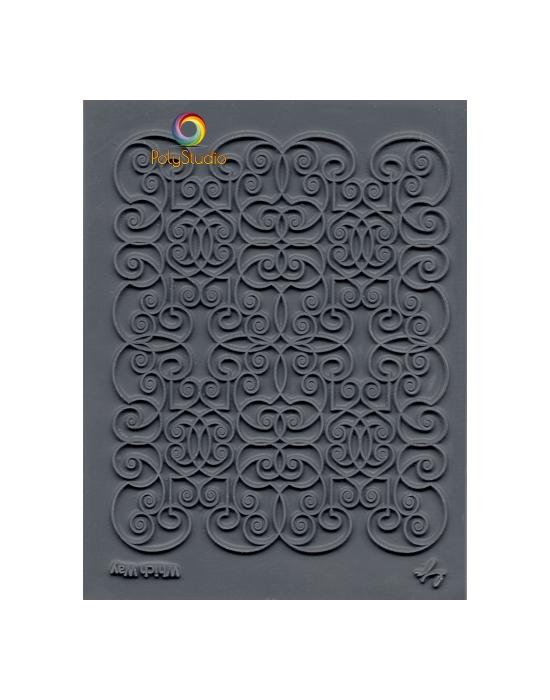 L. Pavelka Texture stamp Tumbling Blocks