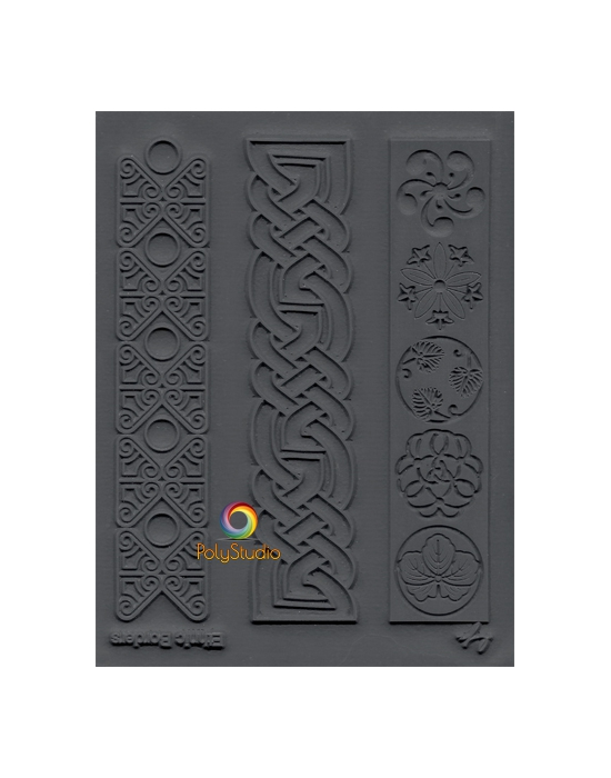 L. Pavelka Texture stamp Ethnic borders