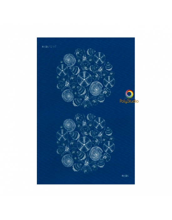 Moïko silk screen Urchins & Seashells