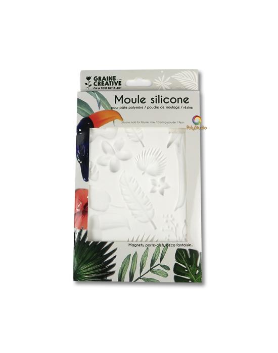 Silicon bakeable mold Tropical