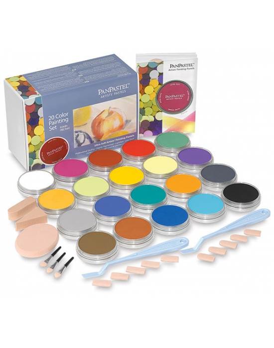 Pan Pastel - 10 Colors Set