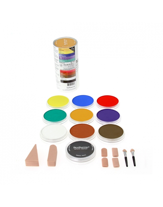Pan Pastel - Set base de 10 couleurs