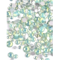 Green Opal mini strass