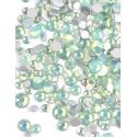 Mini strass Opale Verts