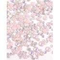 Pink Opal mini strass