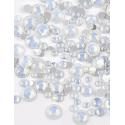 White Opal mini strass