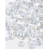 White Opal mini strass