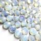 Green Opal mini strass