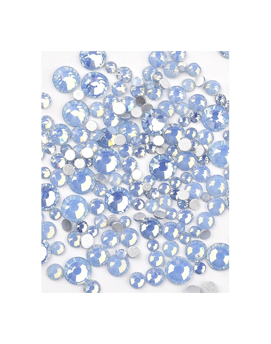 Mini strass Opale Bleu