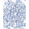 Blue Opal mini strass
