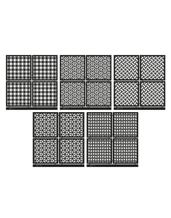 Micro Stencil LC Tools Set 01