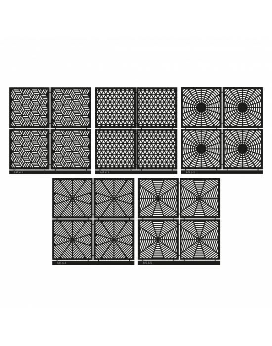 Micro Stencil LC Tools Set 06