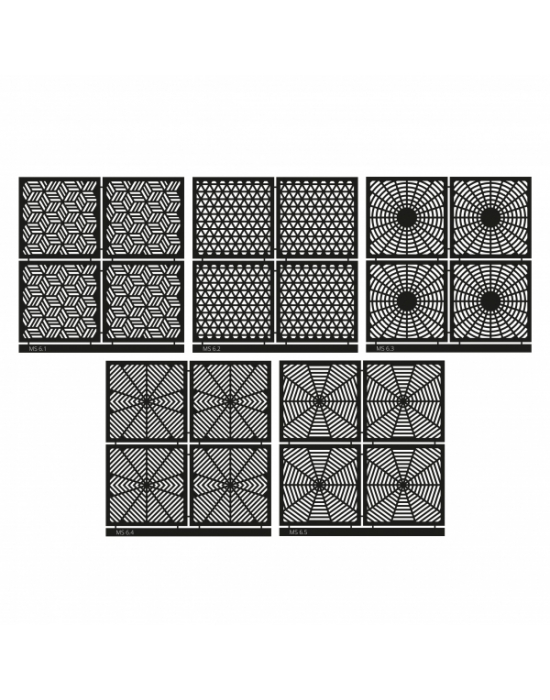 Micro Stencil LC Tools Set 6