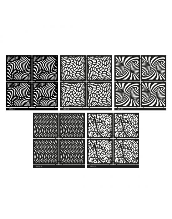Micro Stencil LC Tools Set 8