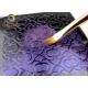 8 mm Flat Tristar paintbrush