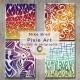 Pixie Art silk screen Tribal