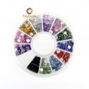 Multicolored mini strass