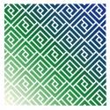 Interlocked stencil