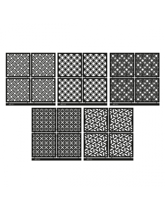 Micro Stencil LC Tools Set 9