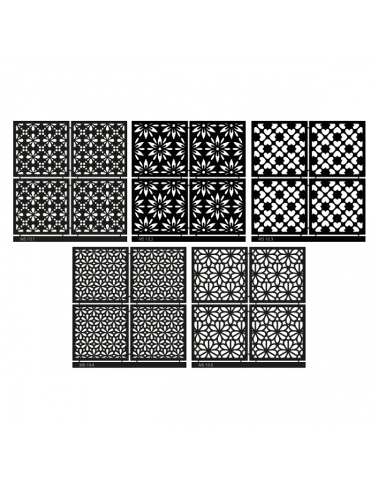 Micro Stencil LC Tools Set 10