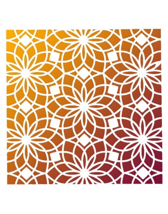 Alhambra Stencil