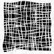Crazy lines Stencil