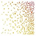 Dots shower Stencil