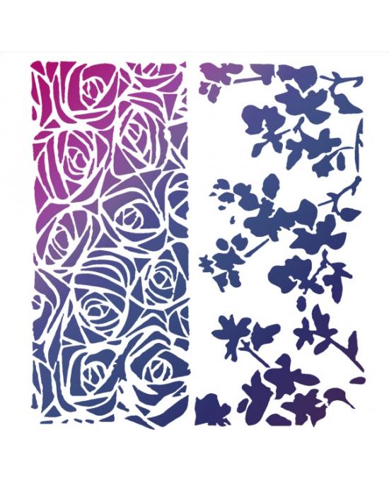 Floral Stencil