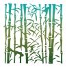 Pochoir Bambous