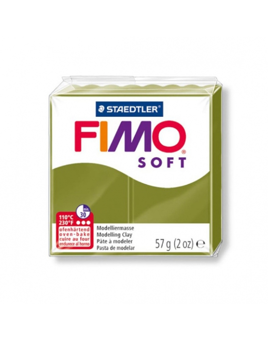 FIMO Soft 57 g 2 oz Olive Green Nr 57