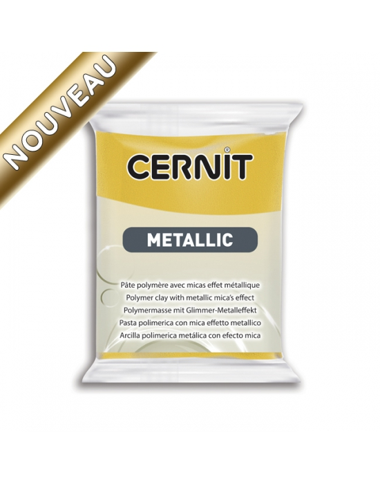 CERNIT Metallic 2 oz Yellow