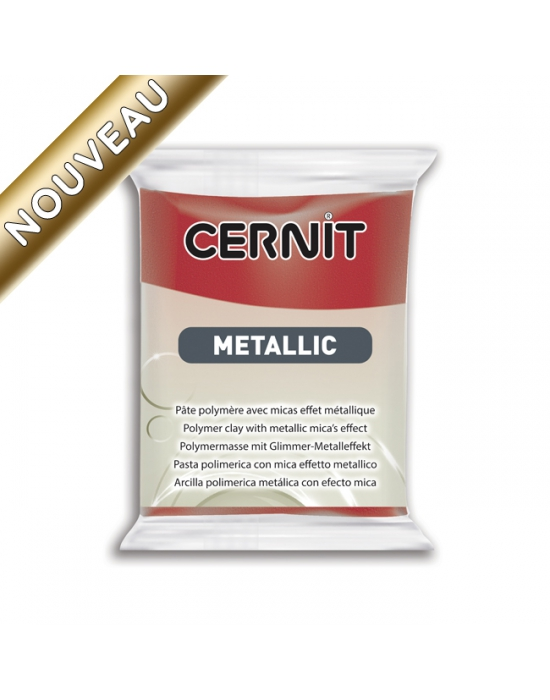 CERNIT Metallic 56 g Rouge