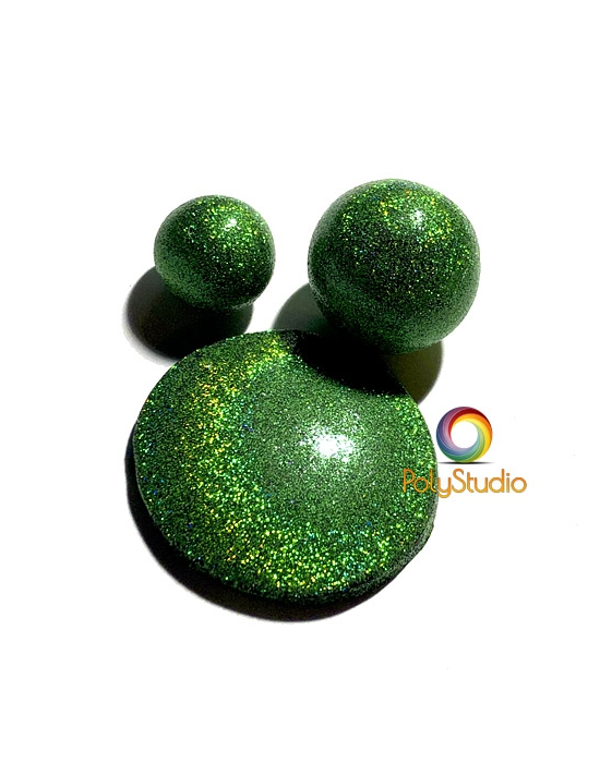 Green Holographic Powder