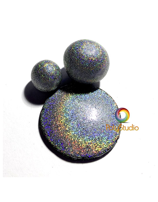 Silver Holographic Powder