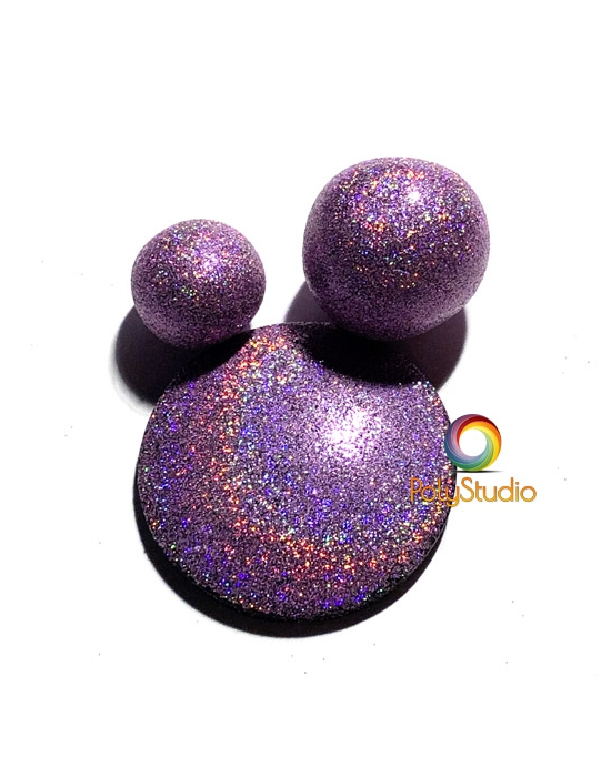 Lilac Holographic Powder