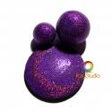 Purple Holographic Powder