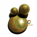 Gold/Green Holographic Powder