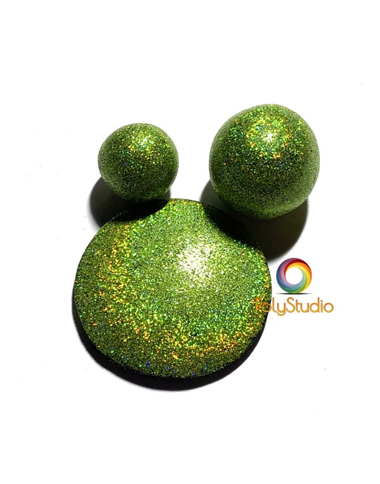 Chartreuse Holographic Powder