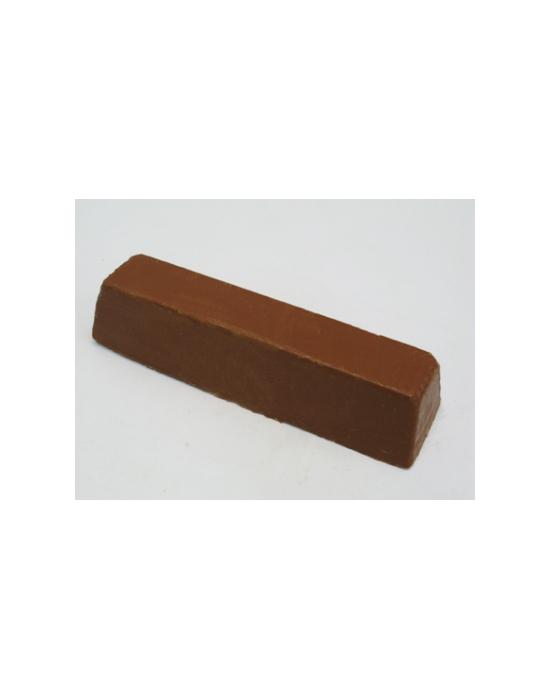 Brown polishing compound