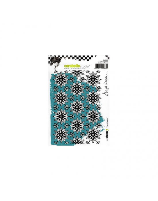 Floral Pattern A6 stamp