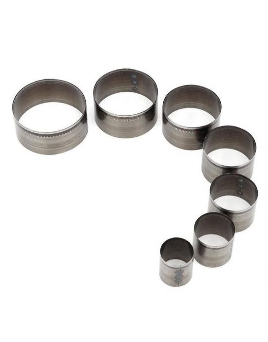 7 Emporte-pièces Cercles