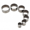 7 steel circles cutters