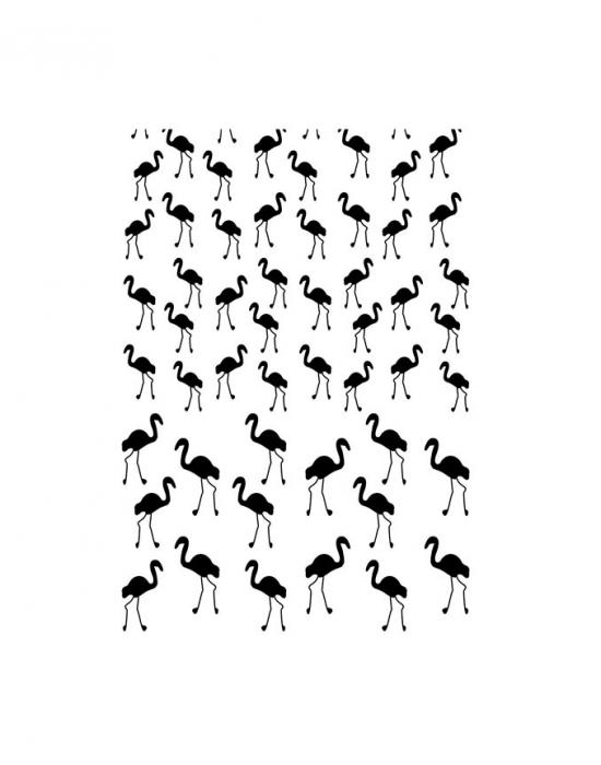Hanni Screen Flamingo