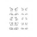 Hanni Screen Cats doodle