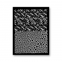 Tonja silk screen Sleet
