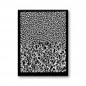 Tonja silk screen Foam & Coral