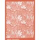 Tonja silk screen Lotus Flowers